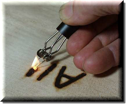 Pyrography - Writing with Fire